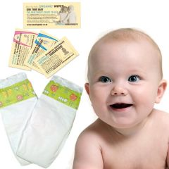 Free from parabens and other harmful chemicals Certified Organic Baby Care and Eco Nappy & Training Pant Samples